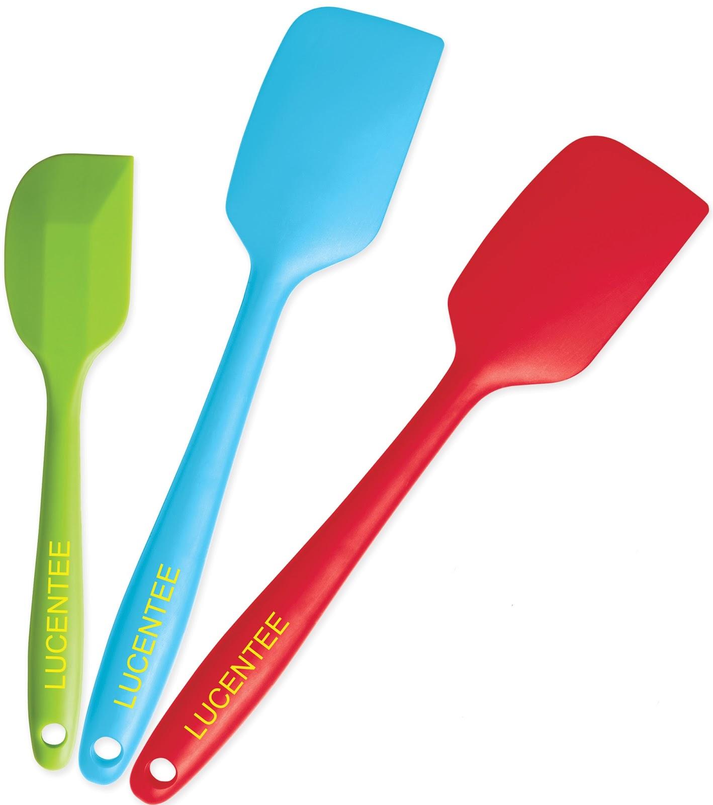 Best kitchen utensil set - Silicone Kitchen Utensil Set By Lucentee