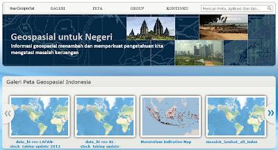 Ina Geoportal, Informasi Geospasial untuk Indonesia