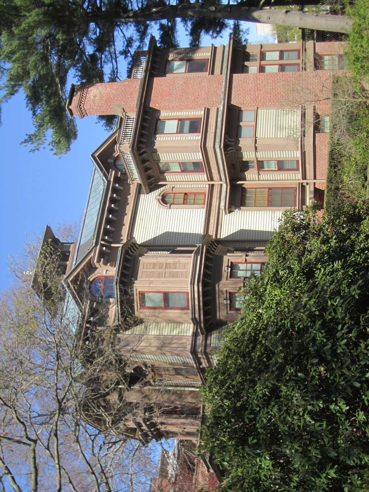 The Picturesque Style Italianate Architecture April 2013