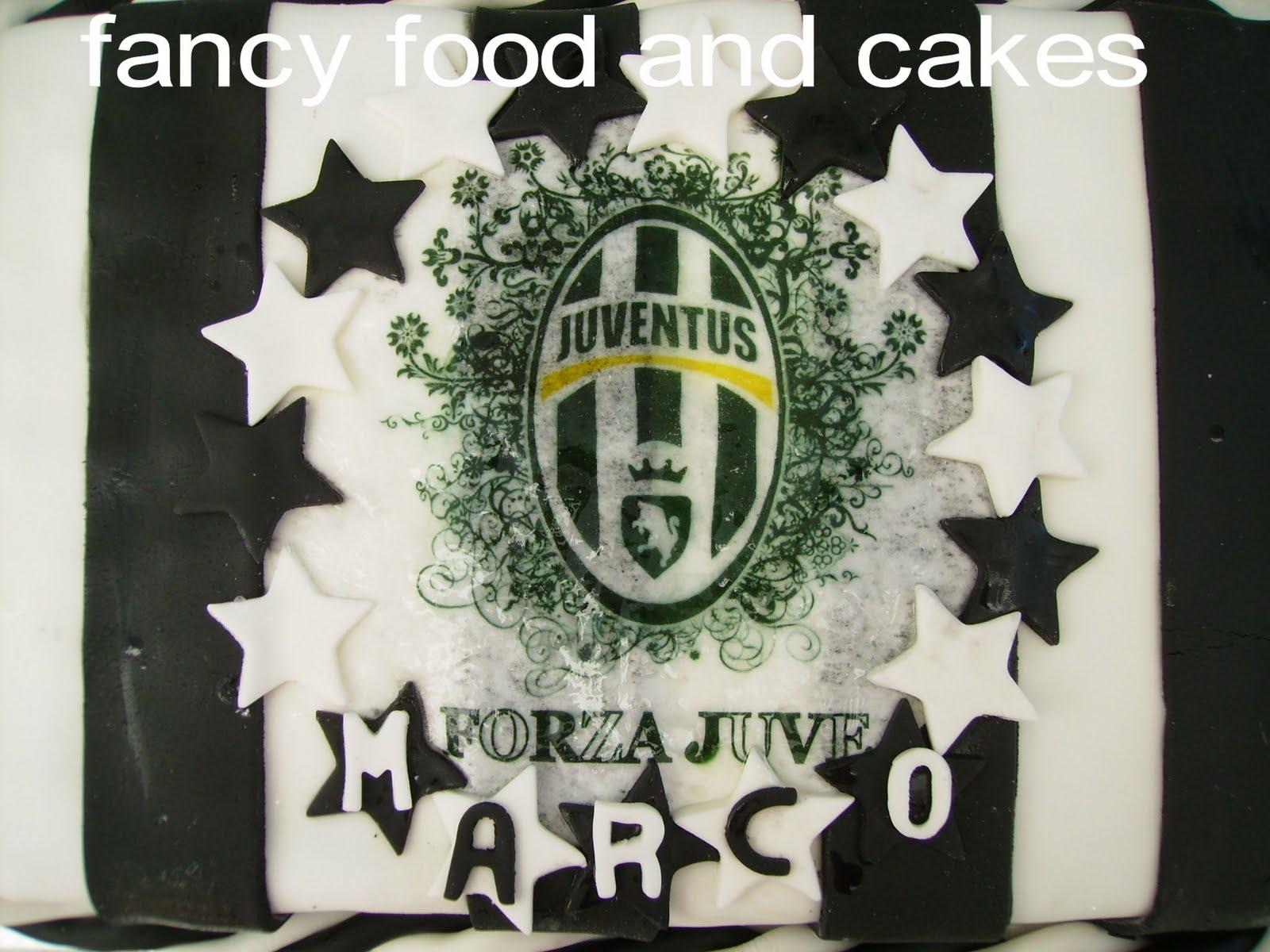 decorazioni torta juventus: sweet fireblue: ♥e finalmente la ... - Decorazioni Torte Juventus