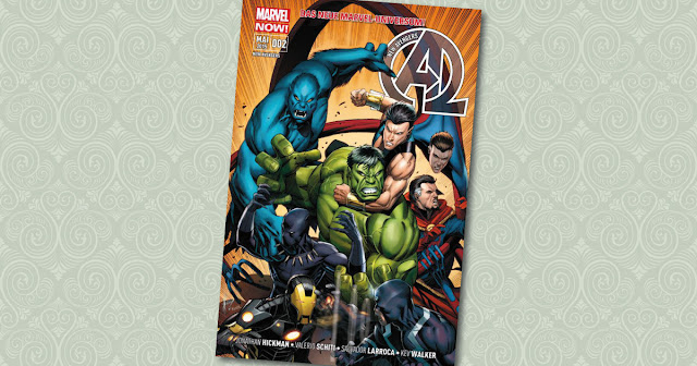 New Avengers 2 Panini Cover