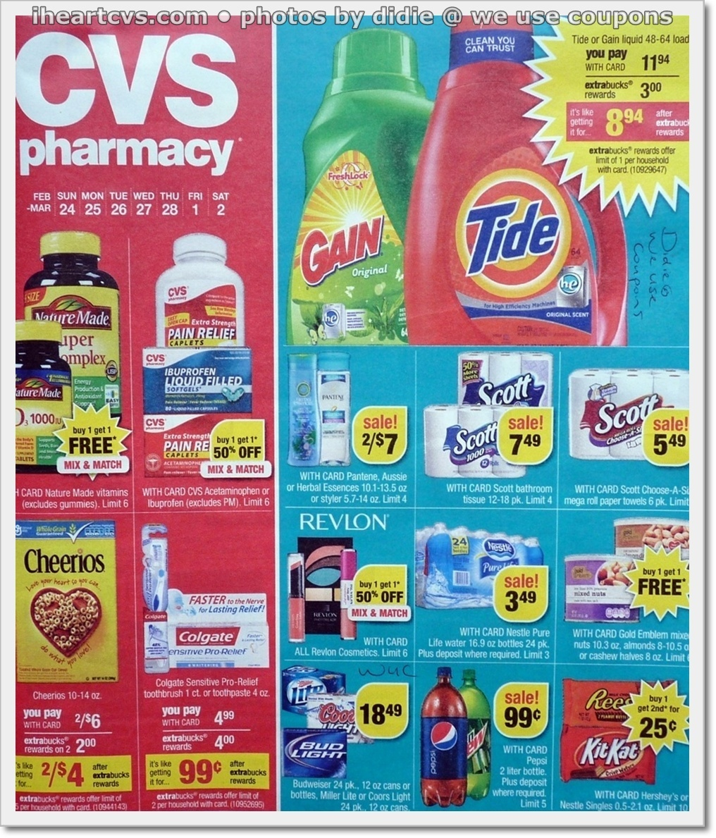 weekly ad scan  cvs ad scan  week of 2  24 2