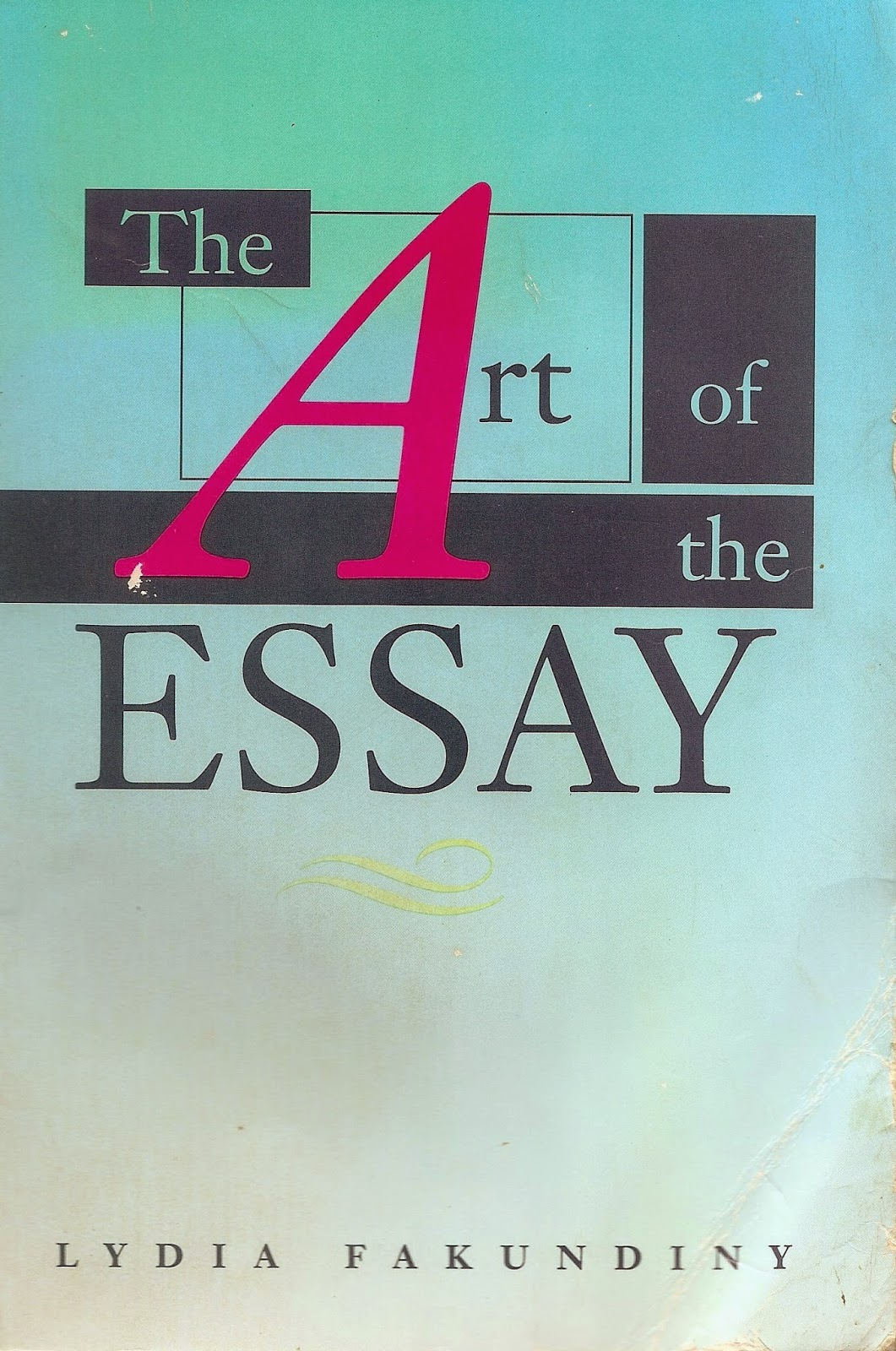no such thing as was  lydia fakundiny on the art of the essay