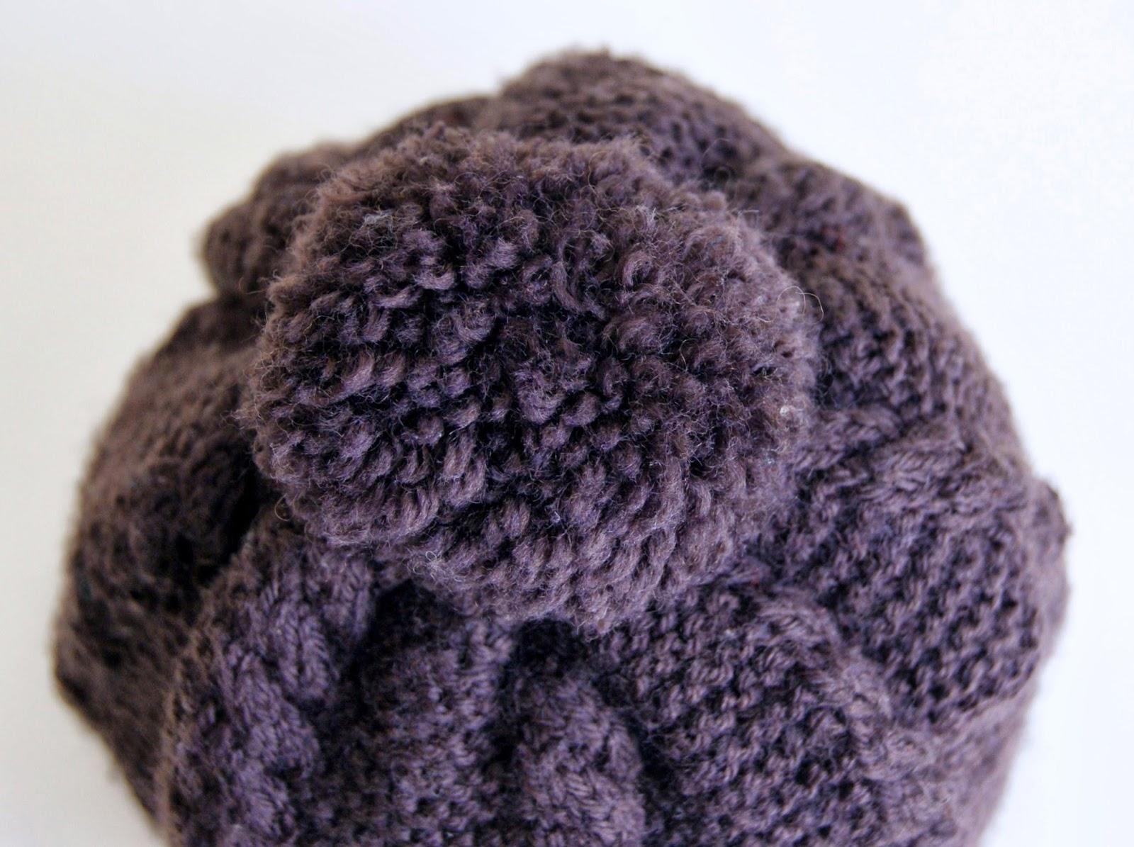 Hacer gorro de lana para niña - Imagui