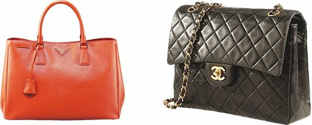 Prada Saffiani & Chanel 2.55
