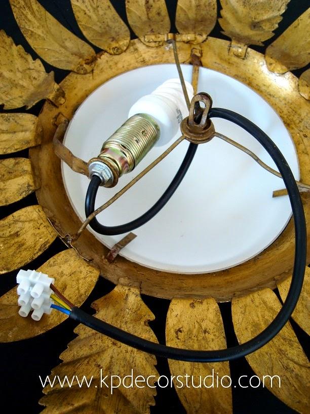 Lámparas antiguas restauradas online. Venta en valencia.
