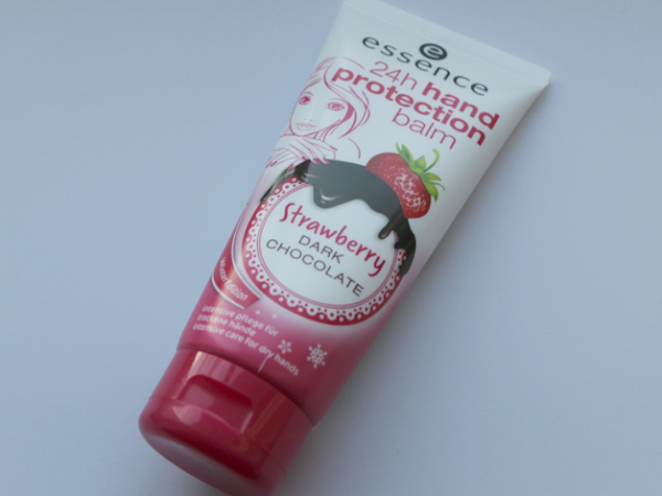 Essence 24h hand protection balm - Strawberry Dark Chocolate.