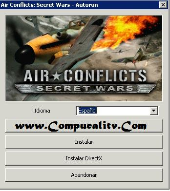 Capturas propias Air Conflict Secret Wars PC