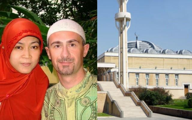 Stefano Romano, Masuk Islam Karena Cahaya Jilbab