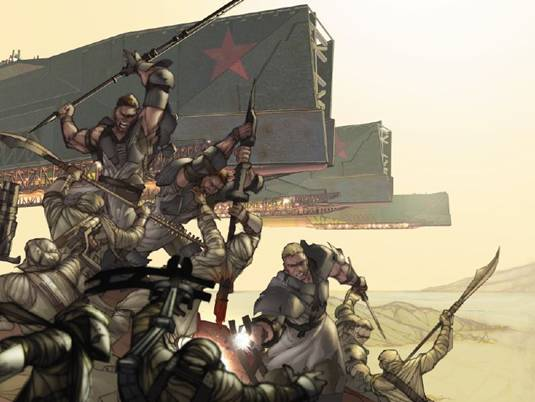 Review: Red Star Volume 1 The Battle of Kar Dathras Gate