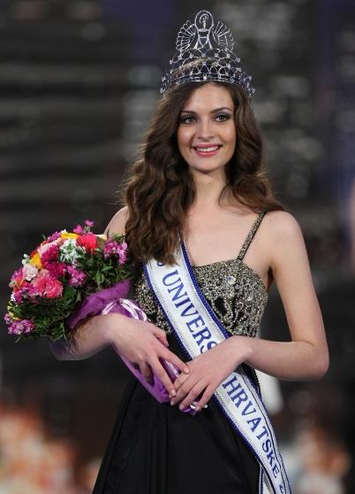 Miss Universe Croatia Hrvatske 2012 Elizabeta Burg