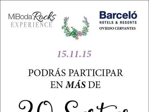 20 Sorteos para novios en Mi Boda Rocks Experience Oviedo