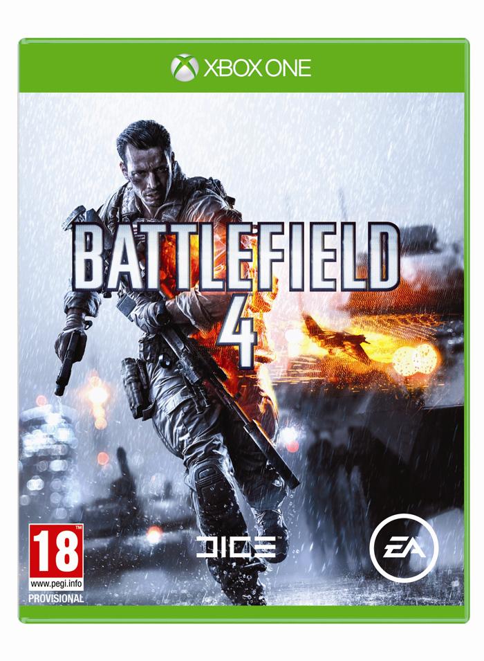 Battlefield 4 - Portada Oficial XBOX ONE