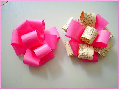 deko geschenkschleifen