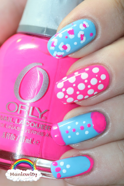 Manicurity: BFF Girly Nails