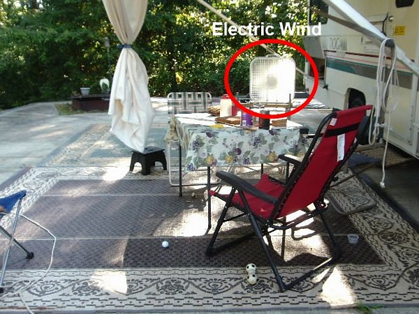 outside patio cooling by http://dearmissmermaid.com