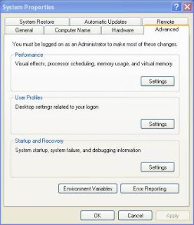 Tips Mengatasi Virtual Memory Low