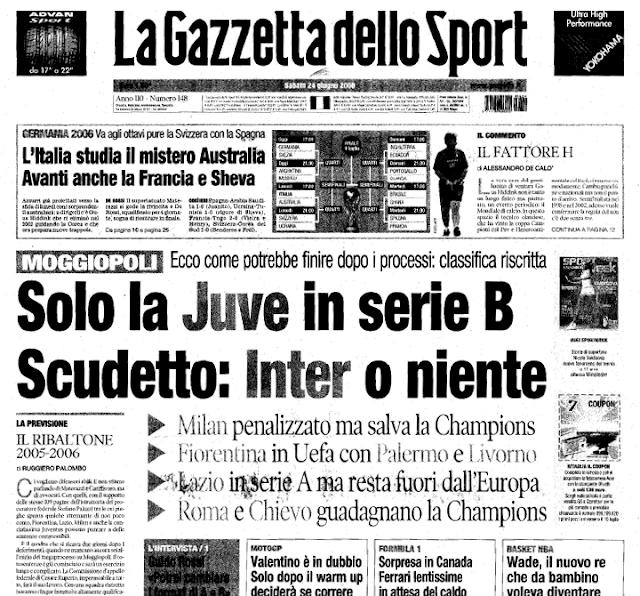 milanska gazzetta dello sport - neprijatelj svih normalnih ljudi