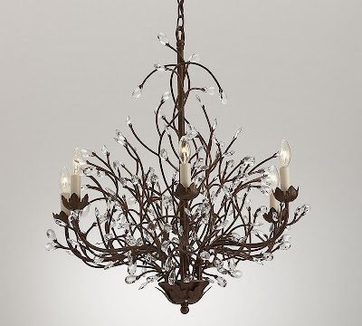 Copy Cat Chic: Pottery Barn Camilla Chandelier