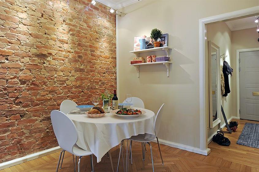 Coisas da k tia parede de tijolinhos for Pared rustica interior