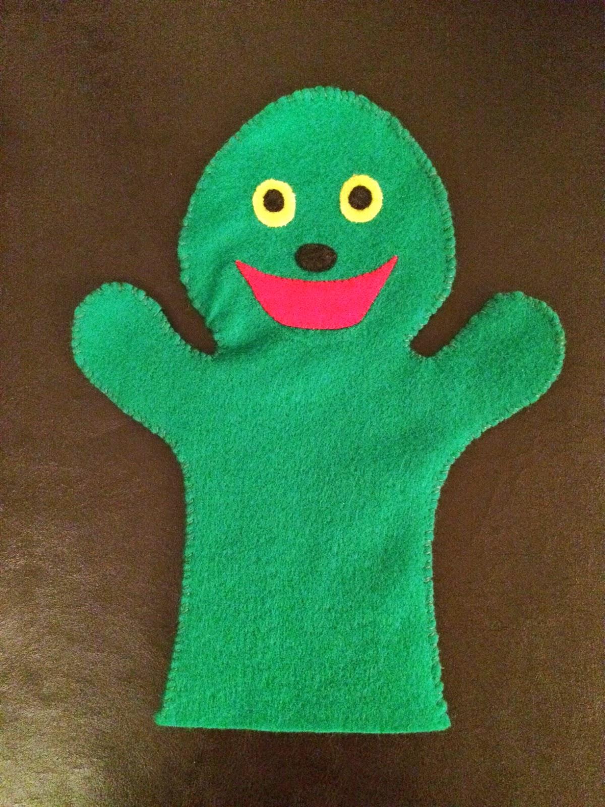 Handmade Dimoitou Hand Puppet