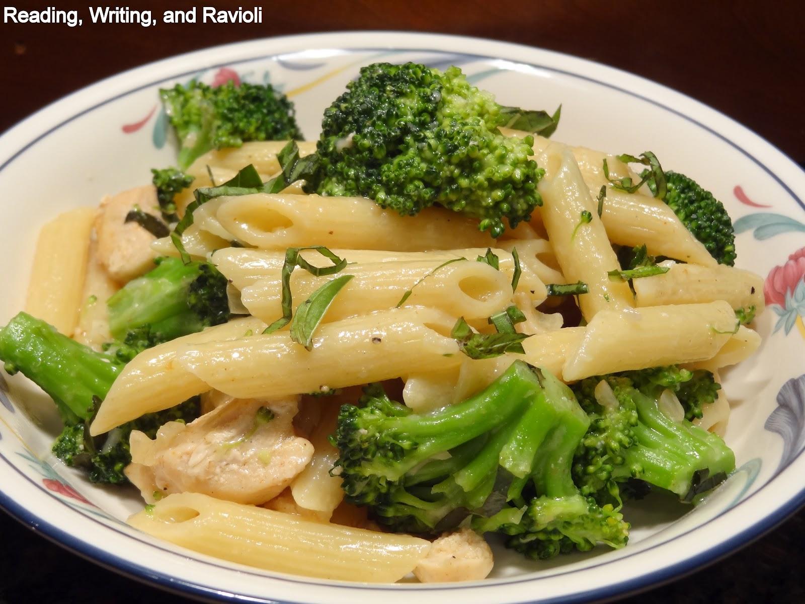 ... : Recipe: Chicken and Broccoli Pasta in a Brown Butter Cream Sauce