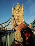 London Bridge with Kak Adilah Sayang