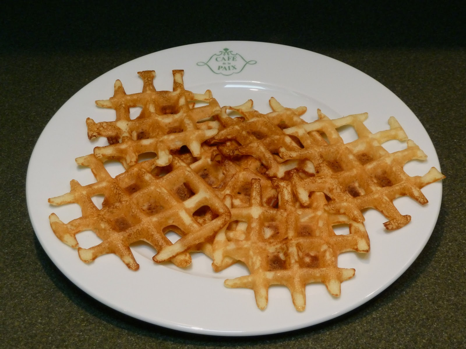 Homesick Pie: Potato Waffles with Crème Fraiche