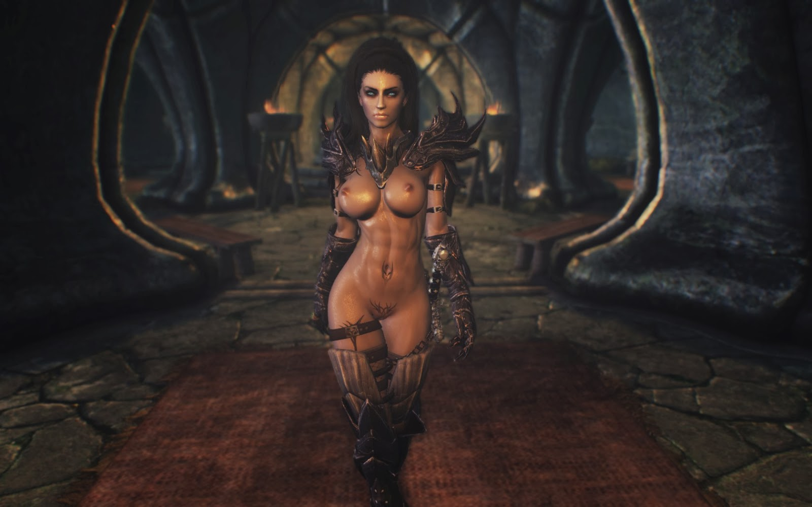 Nude female orc skyrim smut videos