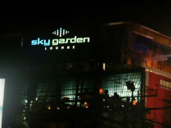 Kuta Nightlife : Sky Garden 61 Legian Bali