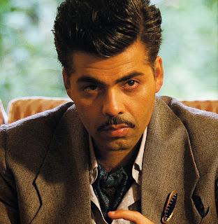 Ranbir Kapoor Karan Johar Stills at Bombay Velvet Movie 6