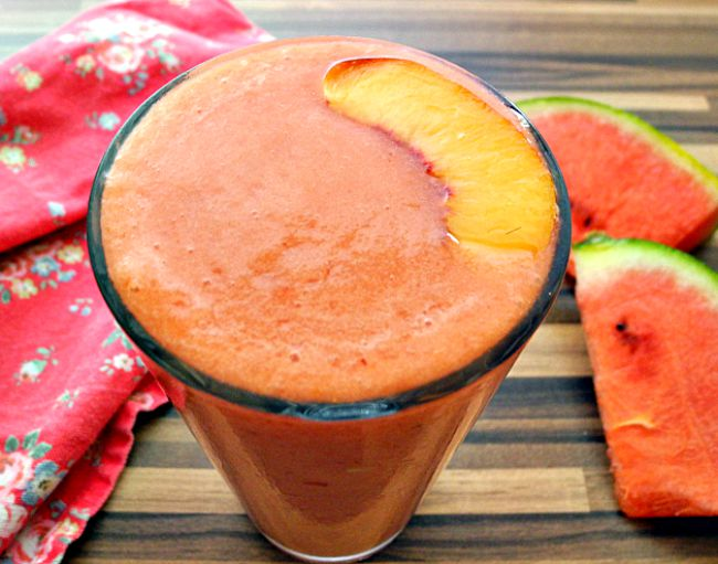 What Catey Made Next...   30 Smoothies   1/30 Watermelon Smooshie