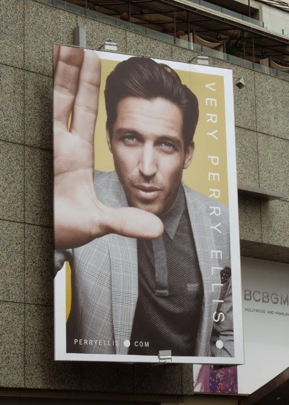 Very Perry Ellis Spring 2014 billboard