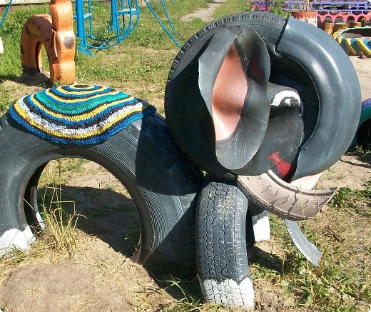 How To Recycle Animal Craft From Tires