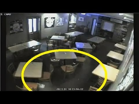 Surveillance Video Show Ghost Haunting A Bar In Australia