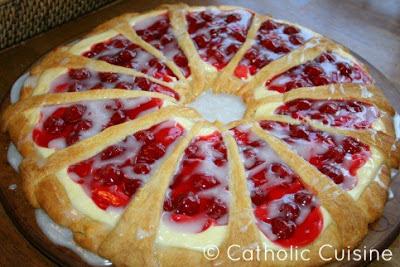 Cherry Cream Cheese Coffee Cake Pinterest