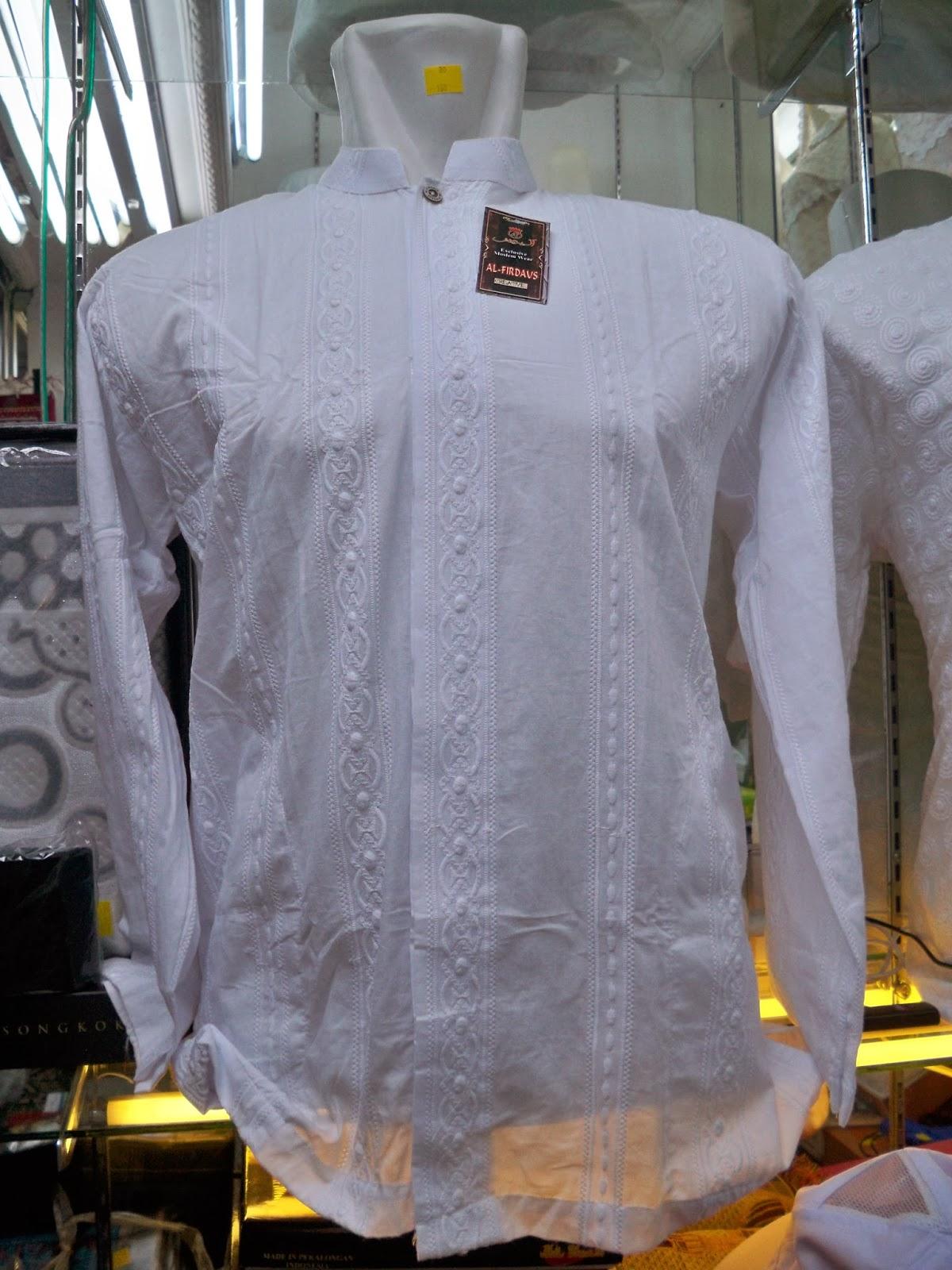 Perlengkapan Umroh Dan Haji Termurah Baju Koko Kaos Umrah Pria Lengan Pendek Exclusive Nama Barang Panjang