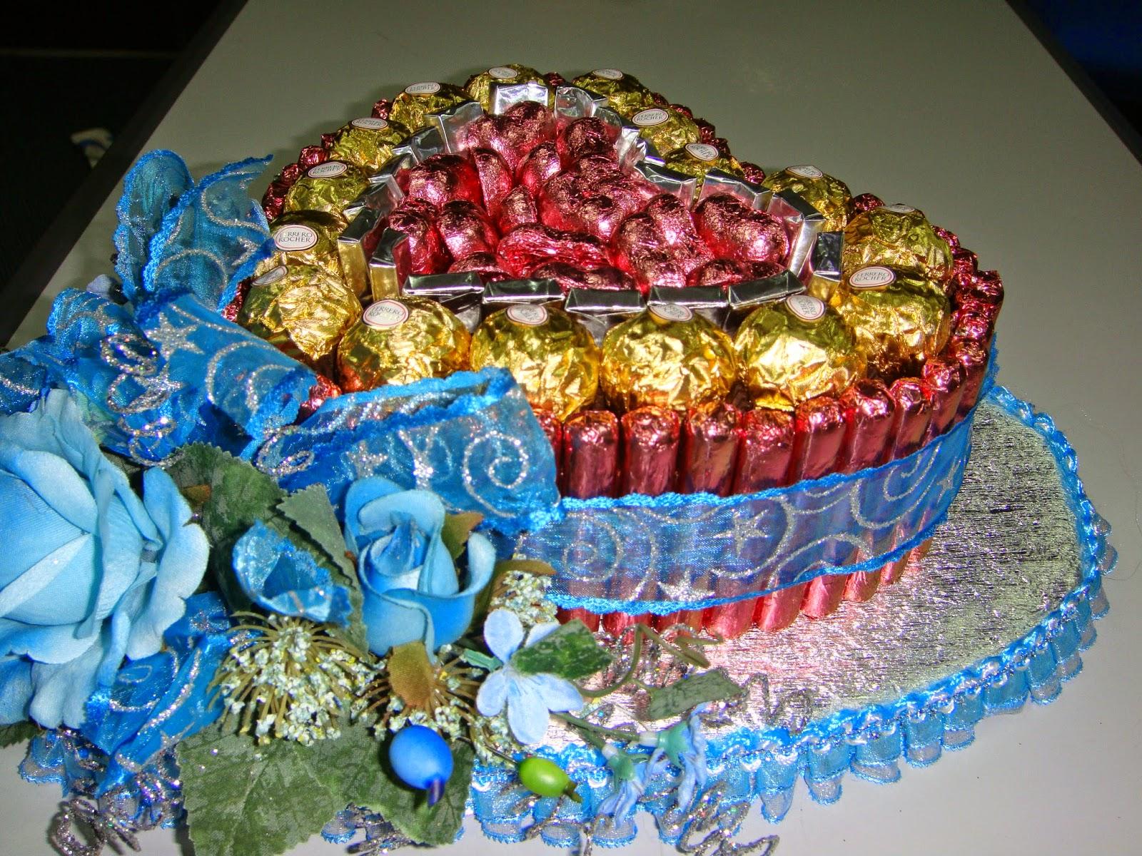 pin gubahan hantaran cokolat - photo #11