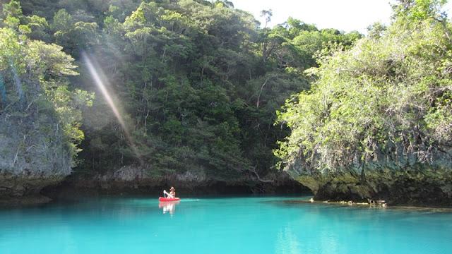 Bay of Islands - das Wasser ist wunderbar türkiesblau