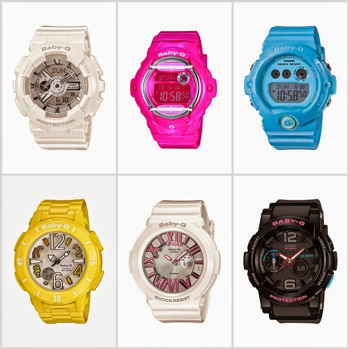 בלוג אופנה Vered'Style - קולקציית שעוני BABY-G לקיץ 2014