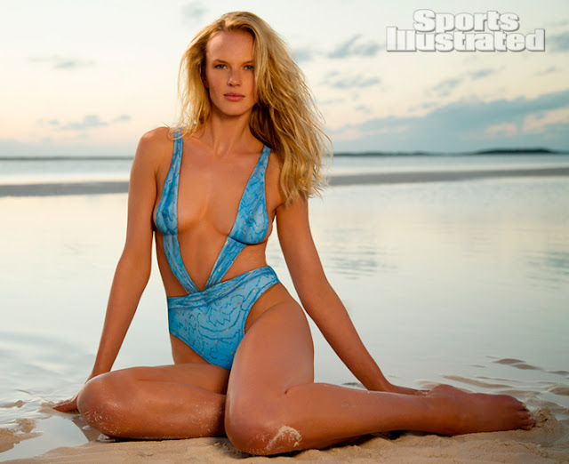 Anne Vyalitsyna - Nude ( Covered ) and Bodypaint - Sports Illustrated 2013 Swimsuit Issue
