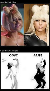 info 5 stars - lady gaga copy paris hilton