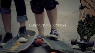 Capa do curta-metragem Carving the Mountains, das Longboard Girls Crews