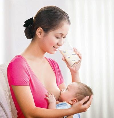 Dầu dừa giúp tăng chất đề kháng cho bé qua sữa mẹ