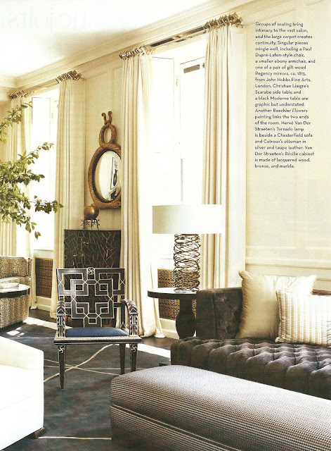 One of my favorite homes marie chantal miller house for Royal interior living room