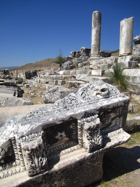 Hierapolis Pamukkale, Turkey.