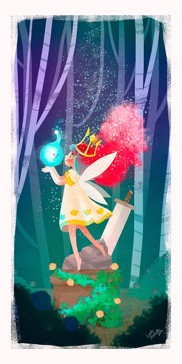 Ilustración, Child of Light de Fátima Anaya