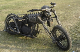 Devil Skeleton Bike