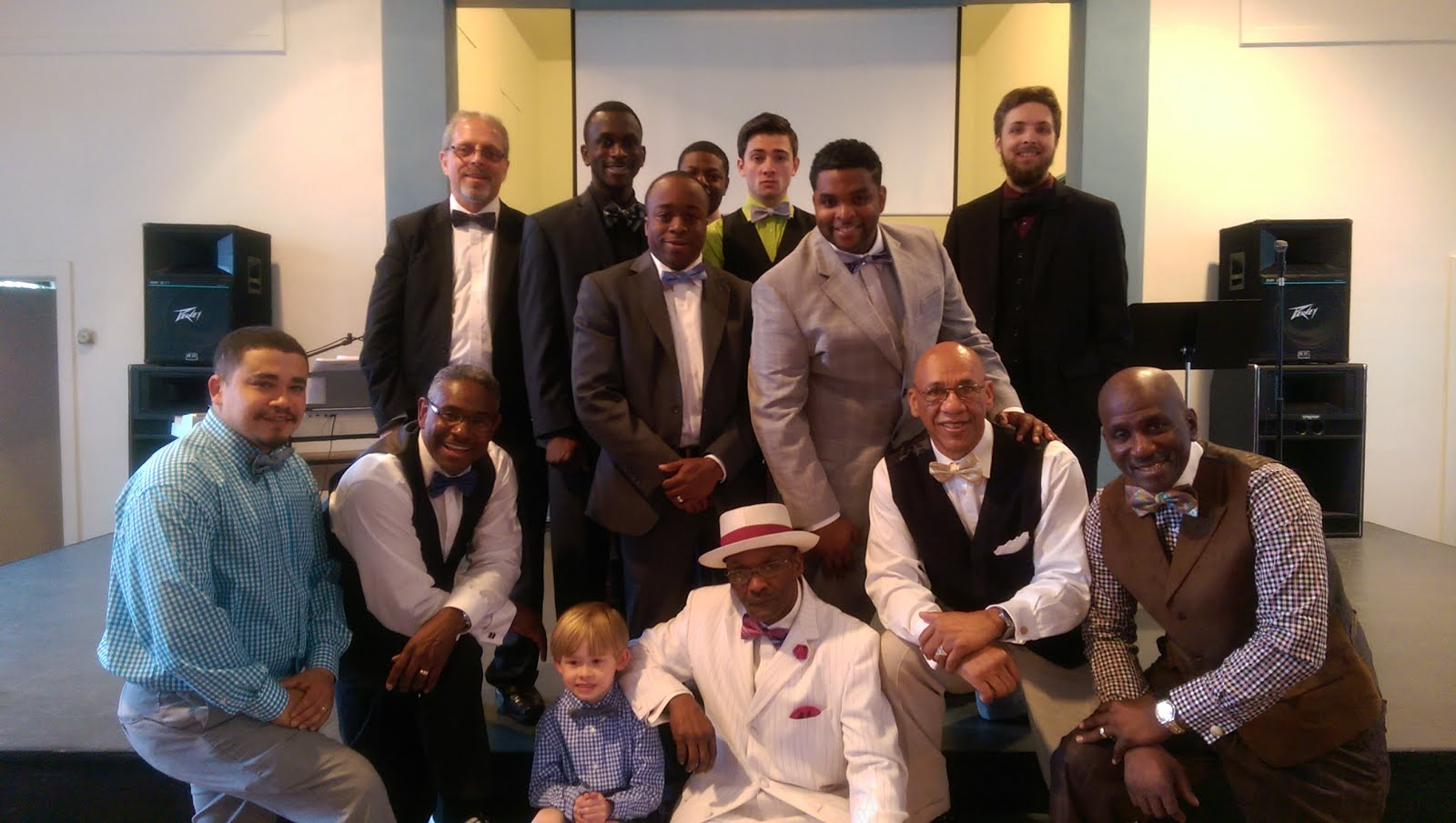 Bow Tie day at church