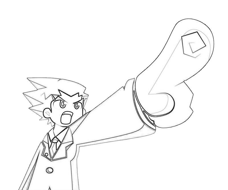 Apollo Cartoon Drawing Apollo Justice Ace Attorney